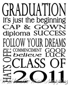 Graduation Printable and Card