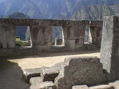 Machu Picchu housing