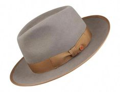 Designed in Germany by Mayser, The fur felt Padua is a stylish wide brim fedora, featuring a teardrop crown and bound-edge brim. 2 brim widthSatin Lined / Leather SweatbandShips with JJ Hat Center Hat-box at no extra charge Mens Fashion Wear, Best Mens Fashion, Fashion Hats, Fashion Outfits, Classic Hats, Spring Fashion Trends, Fashion Ideas, Dress Hats, Well Dressed Men