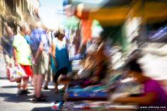 The colours of the market in Valletta. #Valletta #Malta #mediterranean #abstract #blur #colours #market #culture #commerce