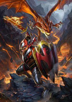 ArtStation - DOTA2-Dragon Knight, ji zhang