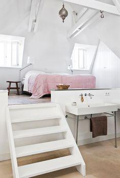 Slaapkamer die gebruikt is voor de intro van Chantal blijft slapen