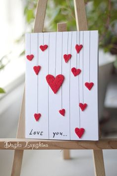 diy cards for boyfriend - Google Search