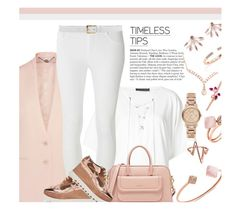"""Rose gold..."" by unamiradaatuarmario ❤ liked on Polyvore featuring STELLA McCARTNEY, Plein Sud, Dorothy Perkins, Michael Kors, Bling Jewelry, Burberry, Pamela Love, Gucci, Ross-Simons and Vita Fede"