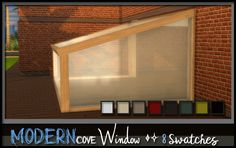 Sims 4 CC's - The Best: Modern Cove Window by ez2ciamaprincess