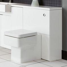Myplan 600 Wc Unit - White Gloss | bathstore