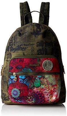 European Amazon best deals for Desigual Womens Lima Woodstock Backpack Handbag
