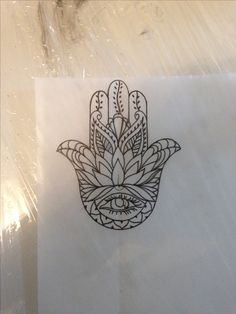 hand fatima sketch #tattoo idea #indian tattoo #mandi tattoo