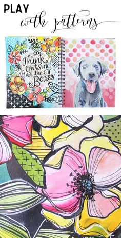 Hello everyone! It's Megan from Makewells here again and today I'm excited to share a glimpse into my personal sketchbook! I'm currently working through a very daunting 365 project - meaning, every d