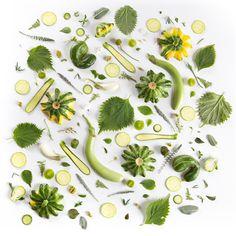 Food Collages by Julie Lee