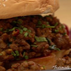 Spice up your typical sloppy joe with rich, bold curry.