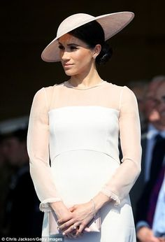 Meghan, Duchess of Sussex attends The Prince of Wales's 70th birthday celebration... #meghanmarkle