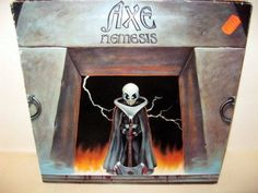AXE -  Nemesis *ATCO Rec. 79-0099 Germany 83*  LP
