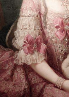 Marie Christine de Habsbourg Lorraine (detail) circa 1765. Meister der Erzherzoginnenportraits