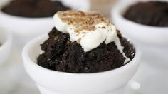 Dump Cakes - Slow-Cooker Triple Chocolate Brownies & 4 ingredient cherry delight