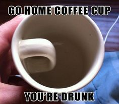 go home coffee cup