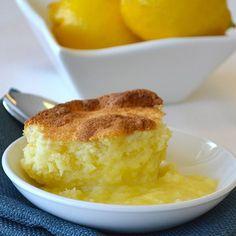 Baked Lemon Pudding Cake from Land O'Lakes