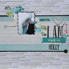 I Am Holly - MCS Main Kit March 2015 - Scrapbook.com