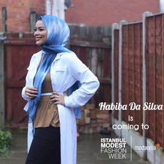 Famous Fashion Blogger Habiba Da Silva will be at Istanbul Modest Fashion Week! You can follow her instagram account from @lifelongpercussion #habibadasilva #IstanbulModestFashionWeek #imfw #fashionshow #hijabfashion #alahijab #hijabchamber #modestymovement #modestfashion #hijabstyle #chichijab #hijabmuslim #istanbul #turkey #fashionweek #istanbulfashionweek #fashion #design #modest #hijab #style