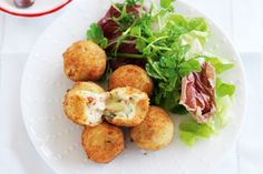 Bacon and cheese croquettes main image