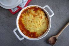 LavFODMAP / lowFODMAP  Layer on layer - the best of i lasagne, moussaka and bolognes  in one form.   Julias lag-på-lag-form