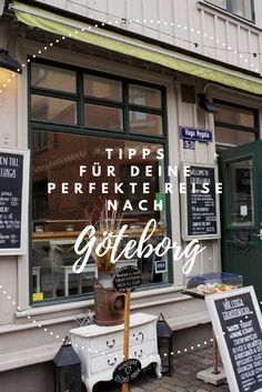 Tips for a short break in Gothenburg - Skandinavien Reisen - Holiday Vacation Trips, Day Trips, Holiday Destinations, Travel Destinations, Visit Sweden, Reisen In Europa, Short Break, City Break, Travel Goals