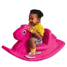 Kids Rocking Horse Toddler Children Riding Toy Bedroom Playroom Chair Seat Gift