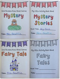 """Looking for a fun way to teach genre? This """"Good Readers"""" package is perfect for students in 2nd grade, 3rd grade and 4th grade! It contains 36 no-prep mini books that will complement any Language Arts program, all year long! FREE sample available!"""