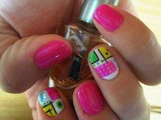 Dimonds Nails : Abstract Art  Nail Art Gallery by NAILS Magazine