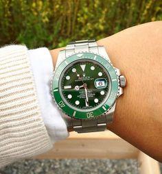 Rolex Submariner Hulk 50th anniversary' available on elevenjames.com