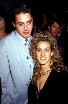 Pin for Later: Wart ihr schockiert von diesen Promi-Pärchen? Robert Downey Jr. und Sarah Jessica Parker, 1987