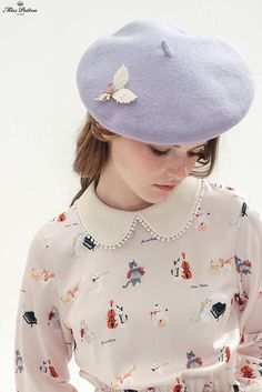 Wool Blend Beret Hat (3 Colours) - Miss Patina - Vintage Inspired Fashion