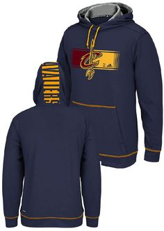 Cleveland Cavaliers Tip-Off Adidas Dassler Hooded Long Sleeve T ...