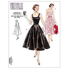 Buy Vogue Women's Vintage Model Dresses Sewing Pattern, 2902 Online at johnlewis.com