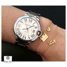 Golden dainty bracelets - spread the L O V E  #pourtoijewelry#gold#dainty#bracelets#armbänder#armparty#dawanda#silberschmuck#silber#sterlingsilver#rosegold#vienna#fashion