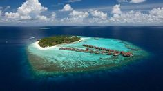 Resort island view