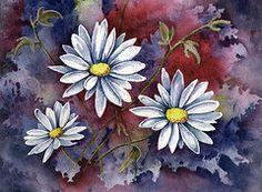 Daisies Art - Pampa Daisies  by Sam Sidders