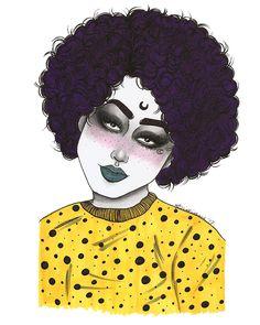 ©️Lidiane Dutra 2017 #Inktober #inktober2017 #ink #traditionalart #illustration #drawing #portrait #art #witchcraft #halloween