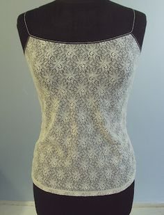 So, Zo.: Lace Vest/Camisole/Singlet and Adjustable Strap Tutorial Sewing Clothes, Diy Clothes, Top Pattern, Free Pattern, 2 Piece Wedding Dress, Lace Vest, Hippie Chick, Lace Camisole, Baby Wearing