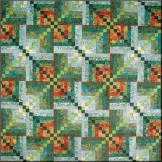 Quilt - Bali Kaleidoskop