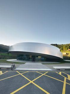 Cultural Center of EU Space Technologies by Bevk Perovic, Dekleva Gregoric, OFIS, Sadar + Vuga I Like Architecture