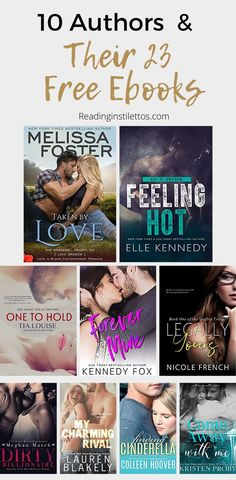 Do you want to discover new authors? Check out this list of 10 authors and their free ebooks in contemporary romance. Find your next amazing story. Os Kennedy, Good Books, Books To Read, Feminist Books, Psychology Books, Love Book, Book Recommendations, Book Lists, Free Ebooks