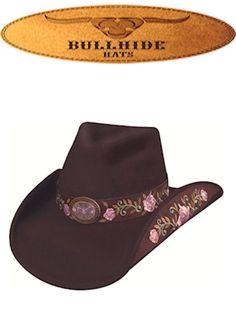 Bullhide Hats Western Fashion Felts Heartbreaker 0554CH Chocolate Womens, $70.00