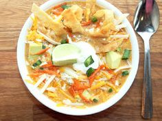 Creole Contessa: Smoked Chicken Tortilla Soup