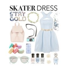 """""""skater dress"""" by bvb-5sos-bmth-1d ❤ liked on Polyvore"""