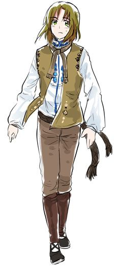 I'm bringing Toris, my advisor~! *dies of cuteness overload* yeah this is what he's wearing to the banquet~ X3