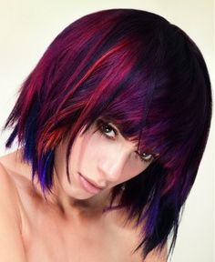 Somehow this manages to be bold and subtle at the same time. #hairstyle #color