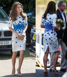 Kate Middleton attending a Youthscape charity in Luton, United Kingdom on August 24, 2016