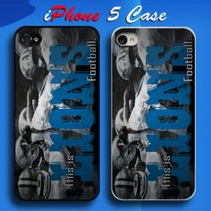 Detroit Lions This Is Lions Football NFL Team Custom iPhone 5 Case Cover
