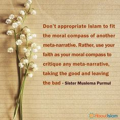 Use your faith as your moral compass.